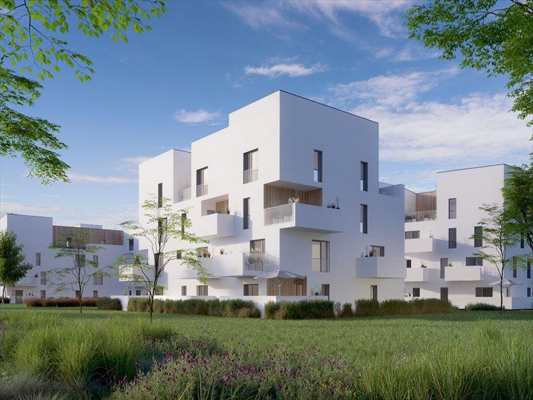 Nowe mieszkanie dwupokojowe Bacciarellego 54 Wrocław, Bartoszowice, Marcelego Bacciarellego 54  38m2 Foto 1