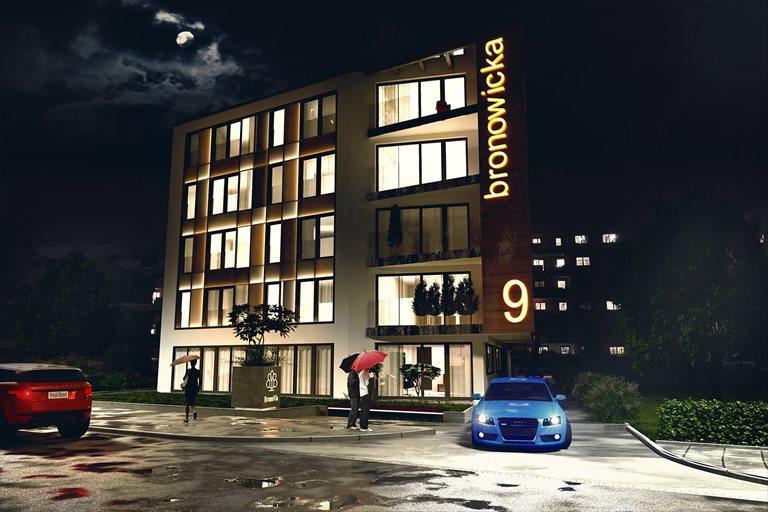Nowe mieszkanie dwupokojowe BronoVia Kraków, Bronowicka 9  47m2 Foto 3