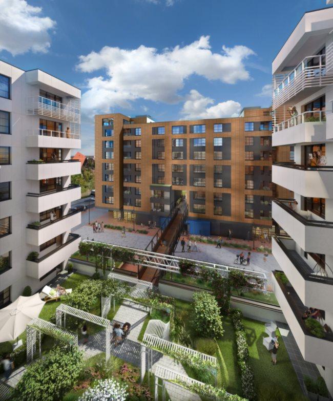 Nowe mieszkanie trzypokojowe DOKI LIVING Gdańsk, Śródmieście, ks. Jerzego Popiełuszki/Rybaki Górne  58m2 Foto 3