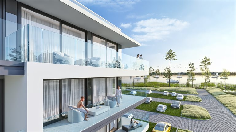 Nowe mieszkanie dwupokojowe Sea & Lake Luxury Apartments Resort Mielno, Unieście, Sosnowy las  34m2 Foto 8