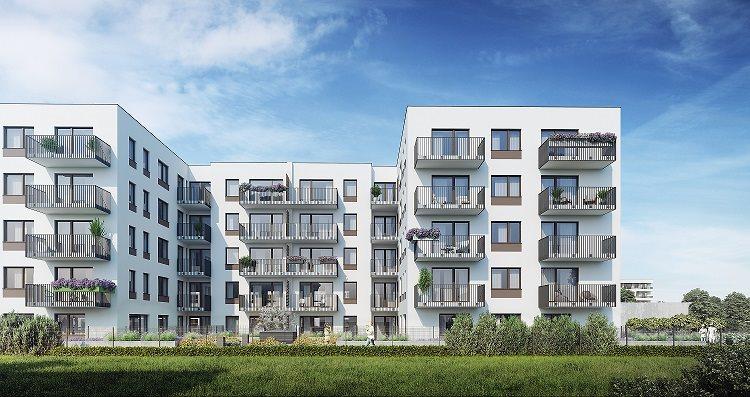 Nowe mieszkanie trzypokojowe Osiedle na Smolnej  VII Poznań, Nowe Miasto, Smolna 13  62m2 Foto 1