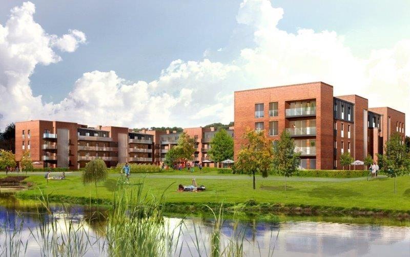 Nowe mieszkanie trzypokojowe Stara Cegielnia Poznań, Grunwald, Stara Cegielnia, Ceglana  79m2 Foto 3