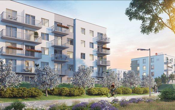 Nowe mieszkanie dwupokojowe Osiedle przy Błoniach Rumia, Janowo, Błoń Janowskich  41m2 Foto 2