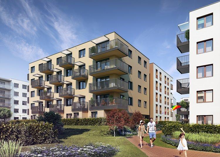 Nowe mieszkanie trzypokojowe Fredry 6 Kraków, Krakowskie Łagiewniki, Fredry 6  53m2 Foto 2