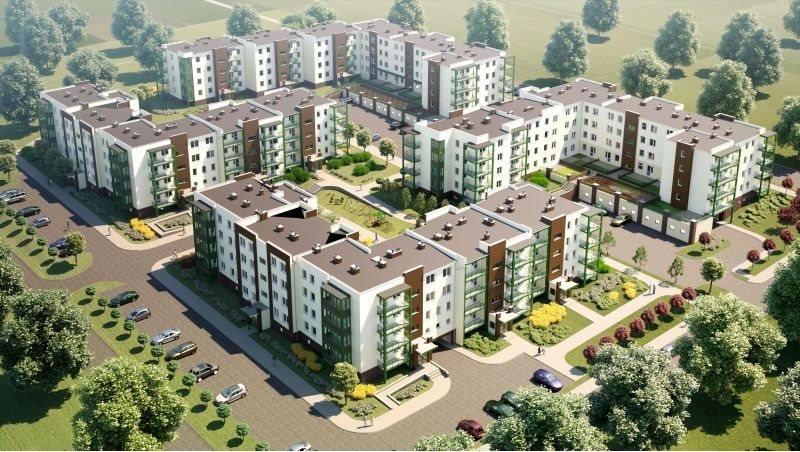 Nowe mieszkanie trzypokojowe OSIEDLE POLESIE V Świdnik, ul. Klonowa 69  68m2 Foto 1