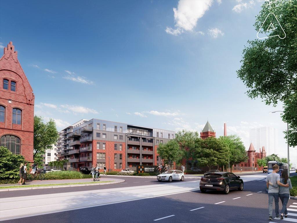Nowe mieszkanie trzypokojowe Browary Wrocławskie  Mieszkania 1-5 pokojowe od 33 do 117 m2 Wrocław, Śródmieście, Jedności Narodowej  51m2 Foto 3