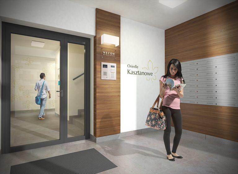 Nowe mieszkanie trzypokojowe Osiedle Kasztanowe Borkowo, Kasztanowa 75A,B,C  67m2 Foto 8