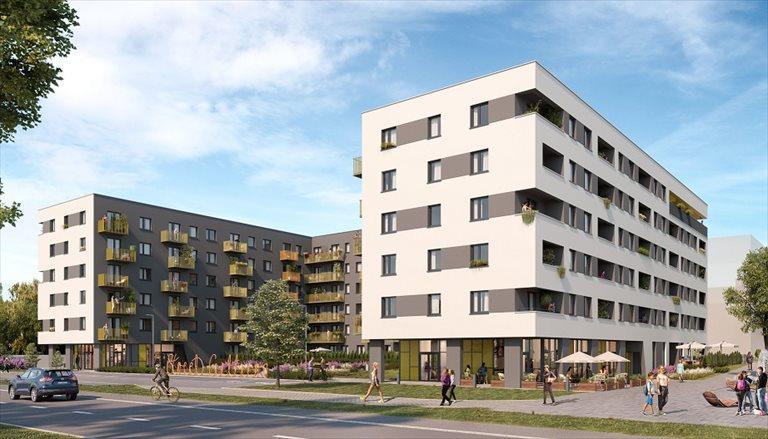 Nowe mieszkanie dwupokojowe CITY VIBE Kraków, PŁASZÓW - PODGÓRZE, MYŚLIWSKA 68  40m2 Foto 3
