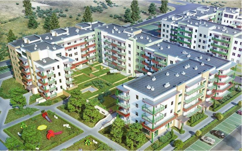Nowe mieszkanie dwupokojowe SŁONECZNY DOM ETAP G-IV Lublin, Wrotków, ul. Rodakiewicza 5  47m2 Foto 4