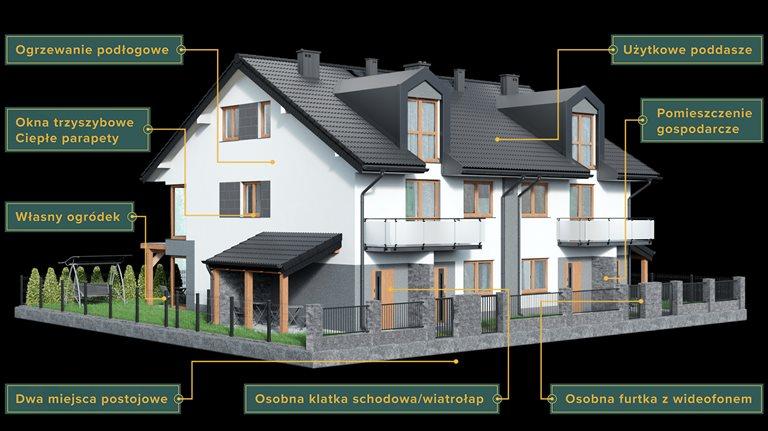 Nowe mieszkanie trzypokojowe Rezydencja Jaworowa Raszyn, Jaworowa, Warszawska 50  79m2 Foto 10