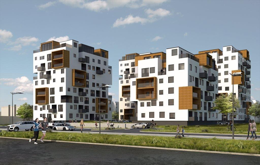 Nowe mieszkanie trzypokojowe Nowe Zagórze Sosnowiec, Zagórze, Generała Tadeusza Bora Komorowskiego  71m2 Foto 1