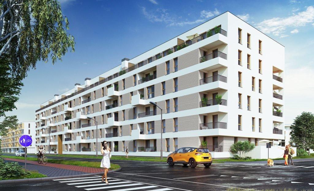 Nowe mieszkanie trzypokojowe Polanka Milczańska Poznań, Rataje, Milczańska 3  63m2 Foto 1