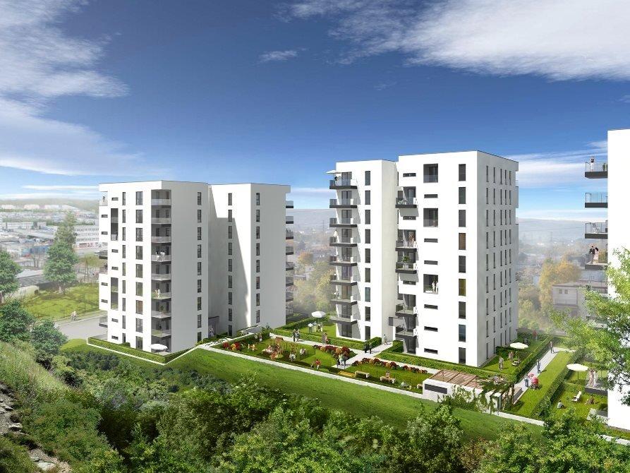 Mieszkanie trzypokojowe na sprzedaż Signum Etap II Gdynia, Pogórze, ul. Żelazna 12  57m2 Foto 1