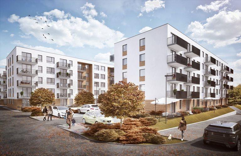 Nowe mieszkanie dwupokojowe STABŁOWICKA II ETAP Wrocław, FABRYCZNA - STABŁOWICE  35m2 Foto 1