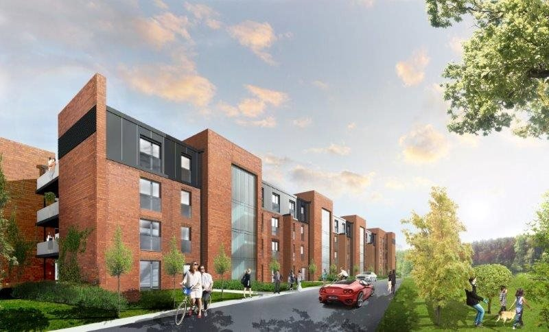 Nowe mieszkanie dwupokojowe Stara Cegielnia Poznań, Grunwald, Stara Cegielnia, Ceglana  49m2 Foto 1
