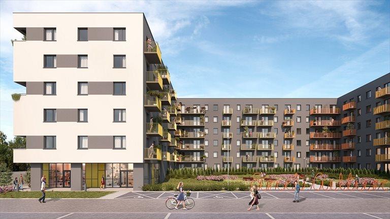 Nowe mieszkanie dwupokojowe CITY VIBE Kraków, PŁASZÓW - PODGÓRZE, MYŚLIWSKA 68  40m2 Foto 4