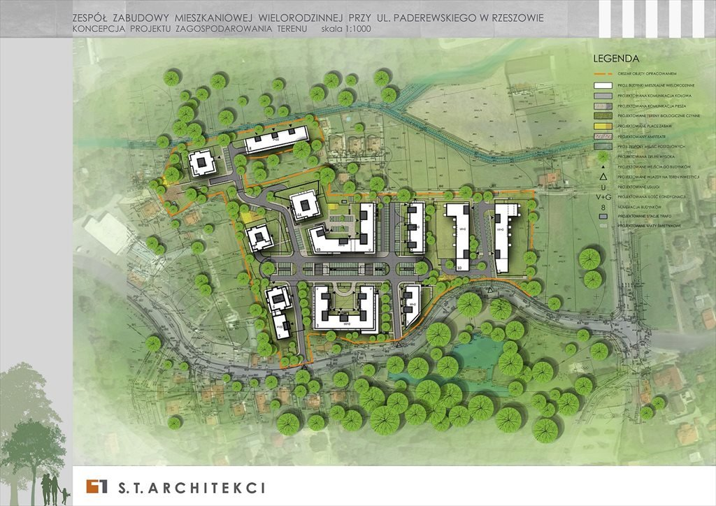 Nowe mieszkanie czteropokojowe  Dzielnica Parkowa Rzeszów, Słocina, Paderewskiego  71m2 Foto 12