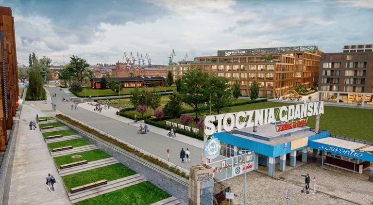 Nowe mieszkanie trzypokojowe DOKI LIVING Gdańsk, Śródmieście, ks. Jerzego Popiełuszki/Rybaki Górne  58m2 Foto 5