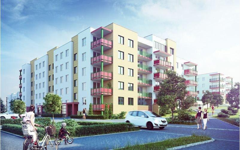 Nowe mieszkanie dwupokojowe SŁONECZNY DOM ETAP G-IV Lublin, Wrotków, ul. Rodakiewicza 5  47m2 Foto 2