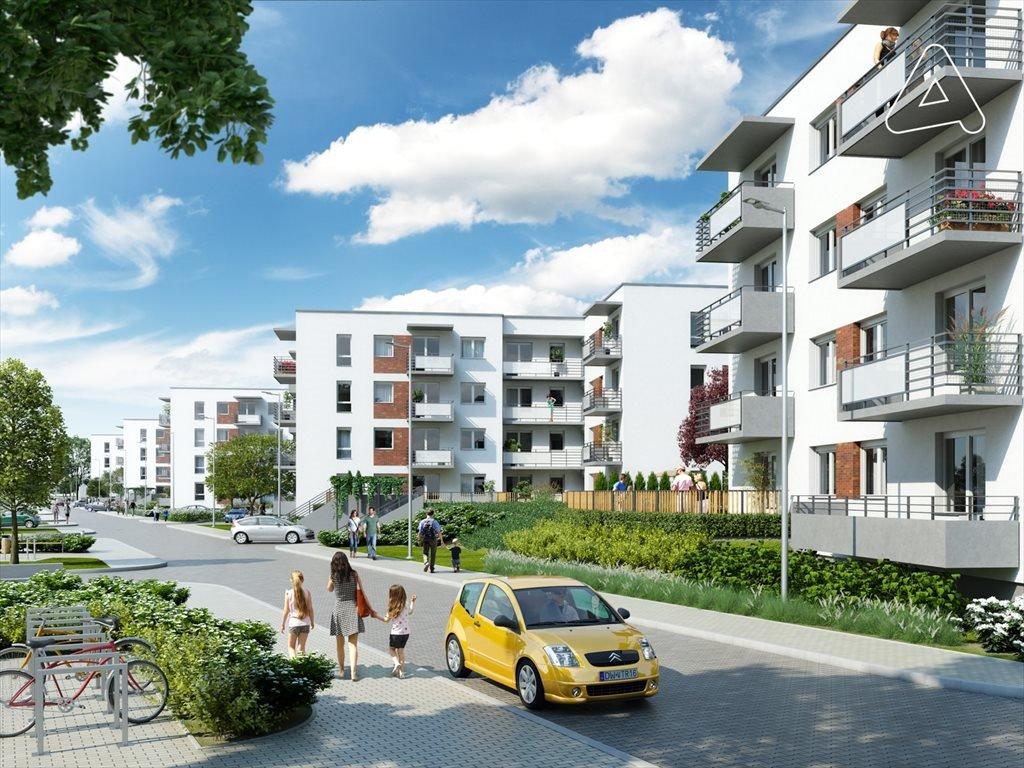 Nowe mieszkanie trzypokojowe Księżno Wrocław, Księże Wielkie, Opolska  55m2 Foto 1