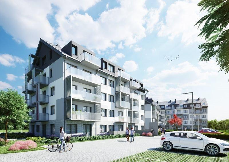 Nowe mieszkanie trzypokojowe Zamieszkaj na Rudawskiej 2 Wrocław, Rudawska  56m2 Foto 1