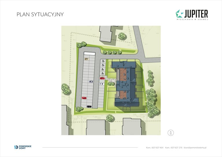 Nowe mieszkanie trzypokojowe Jupiter Gdańsk, Osowa, Galaktyczna 20  63m2 Foto 11