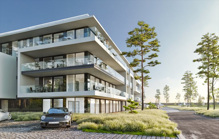 Nowe mieszkanie dwupokojowe Sea & Lake Luxury Apartments Resort Mielno, Unieście, Sosnowy las  34m2 Foto 5