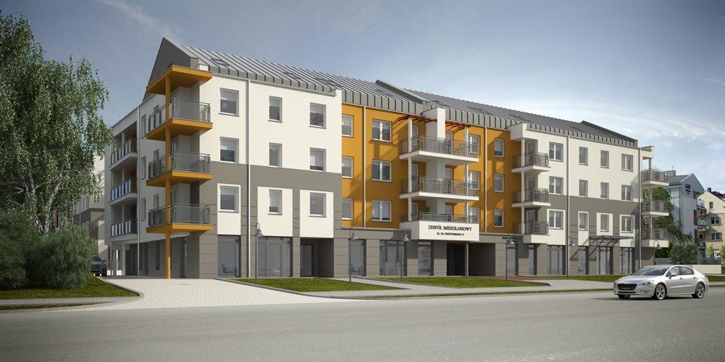 Mieszkanie dwupokojowe na sprzedaż Stróżyńskiego 11 Poznań, Piątkowo, Stróżyńskiego 11  46m2 Foto 1