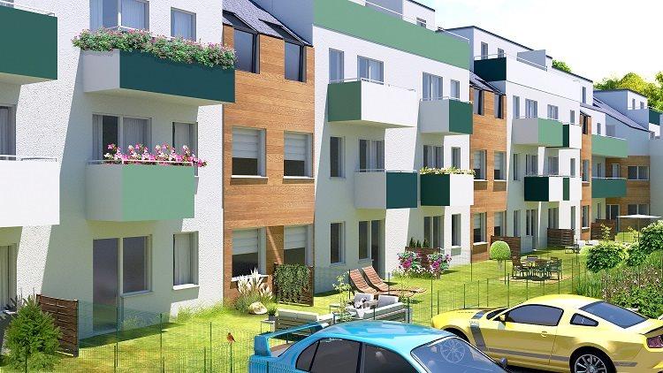 Nowe mieszkanie czteropokojowe  Osada Kolorowa Wrocław, Maślice, Maślicka  79m2 Foto 4
