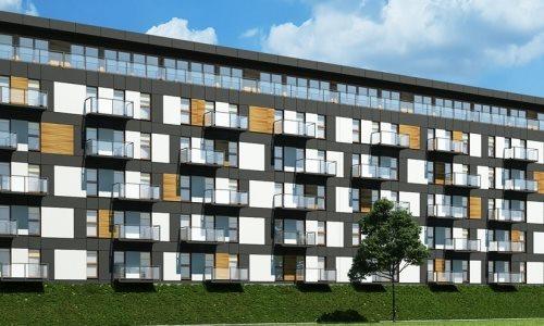 Nowe mieszkanie dwupokojowe Apartamenty Blisko Centrum Poznań, Śródka, Ul. Chlebowa 28  45m2 Foto 2