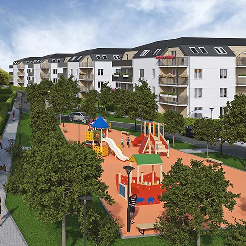 Nowe mieszkanie czteropokojowe  Osiedle Brwinów etap III Brwinów, Grodziska 40  76m2 Foto 2