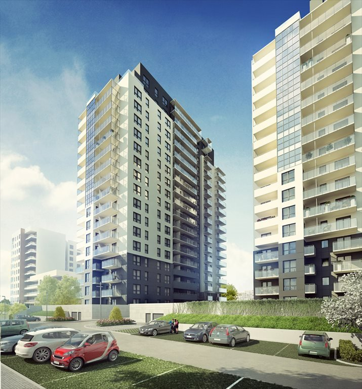 Nowe mieszkanie trzypokojowe Spektrum Gdańsk, Przymorze, Obrońców Wybrzeża  79m2 Foto 1