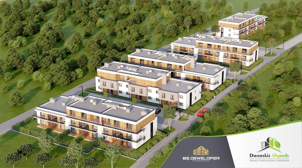 Mieszkanie czteropokojowe  na sprzedaż Dworskie Ogrody Rzeszów, Krakowska 142  63m2 Foto 1