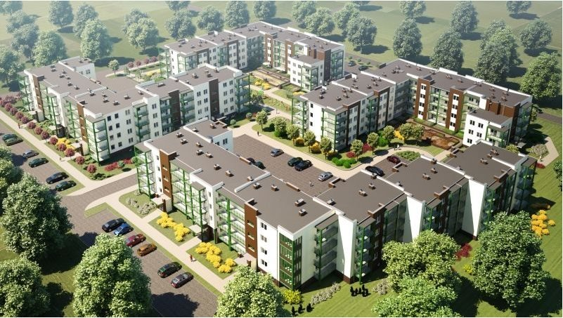 Nowe mieszkanie trzypokojowe OSIEDLE POLESIE V Świdnik, ul. Klonowa 69  68m2 Foto 3