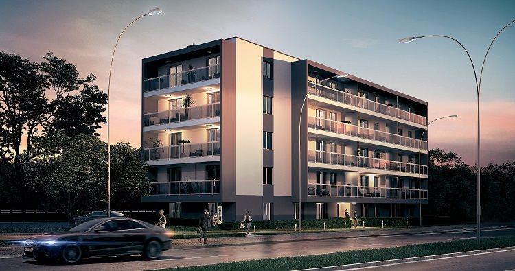 Nowe mieszkanie trzypokojowe Villa Antoniuk   Białystok, Dziesięciny II, Antoniuk Fabryczny 40/48  50m2 Foto 2