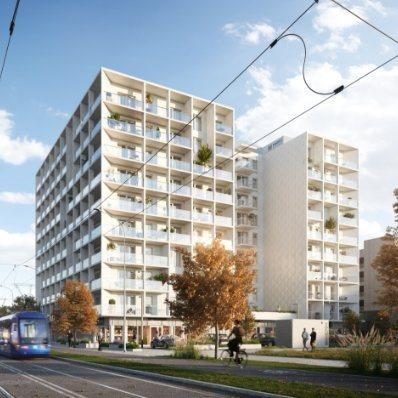 Nowe mieszkanie dwupokojowe Braniborska Wrocław, Stare Miasto, Braniborska 10  50m2 Foto 1