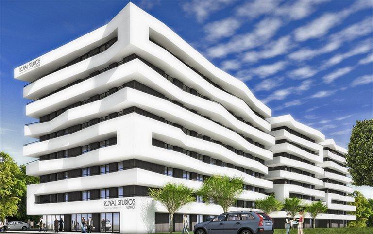 Nowe mieszkanie trzypokojowe Royal Smart Studios Etap II Gliwice, Politechnika, Pszczyńska 51  40m2 Foto 4