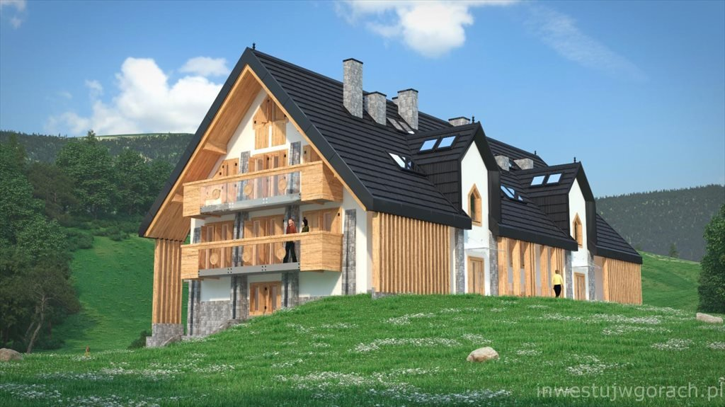 Nowe mieszkanie dwupokojowe Antałówka Residence Zakopane, Droga na Antałówkę 11  39m2 Foto 2