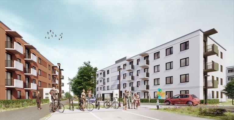 Nowe mieszkanie dwupokojowe Mieszkanie Plus (filar rynkowy) Toruń  Toruń, Podgórz, ul. Okólna  50m2 Foto 3
