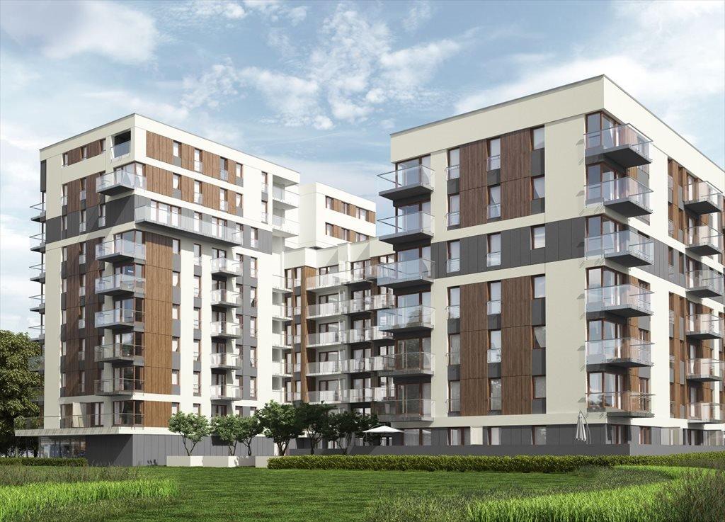 Mieszkanie czteropokojowe  na sprzedaż Nowa 5 Dzielnica Kraków, Krowodrza, ul. Wrocławska  71m2 Foto 1