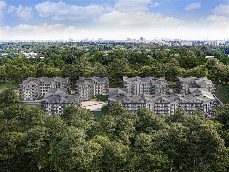 Nowe mieszkanie trzypokojowe Botanic Park Łódź, Polesie, Konstantynowska 64c  65m2 Foto 3