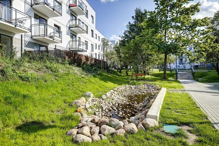 Nowe mieszkanie Wolne Miasto etap VI Gdańsk, Cedrowa 37  56m2 Foto 9