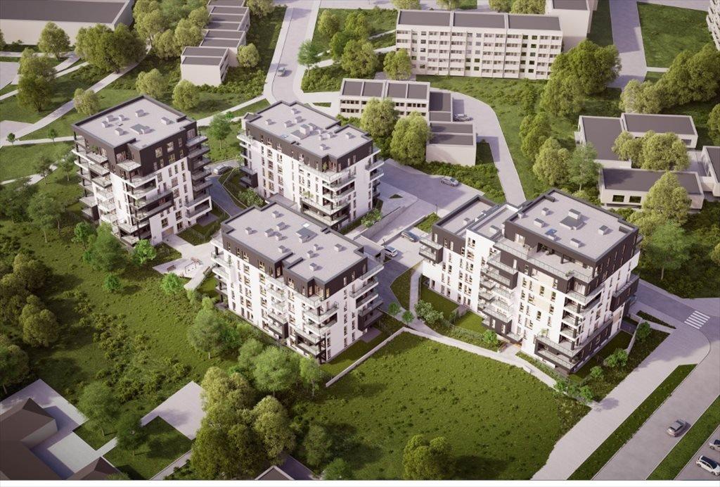 Mieszkanie dwupokojowe na sprzedaż Bardowskiego 1 Katowice, bardowskiego 1  56m2 Foto 1