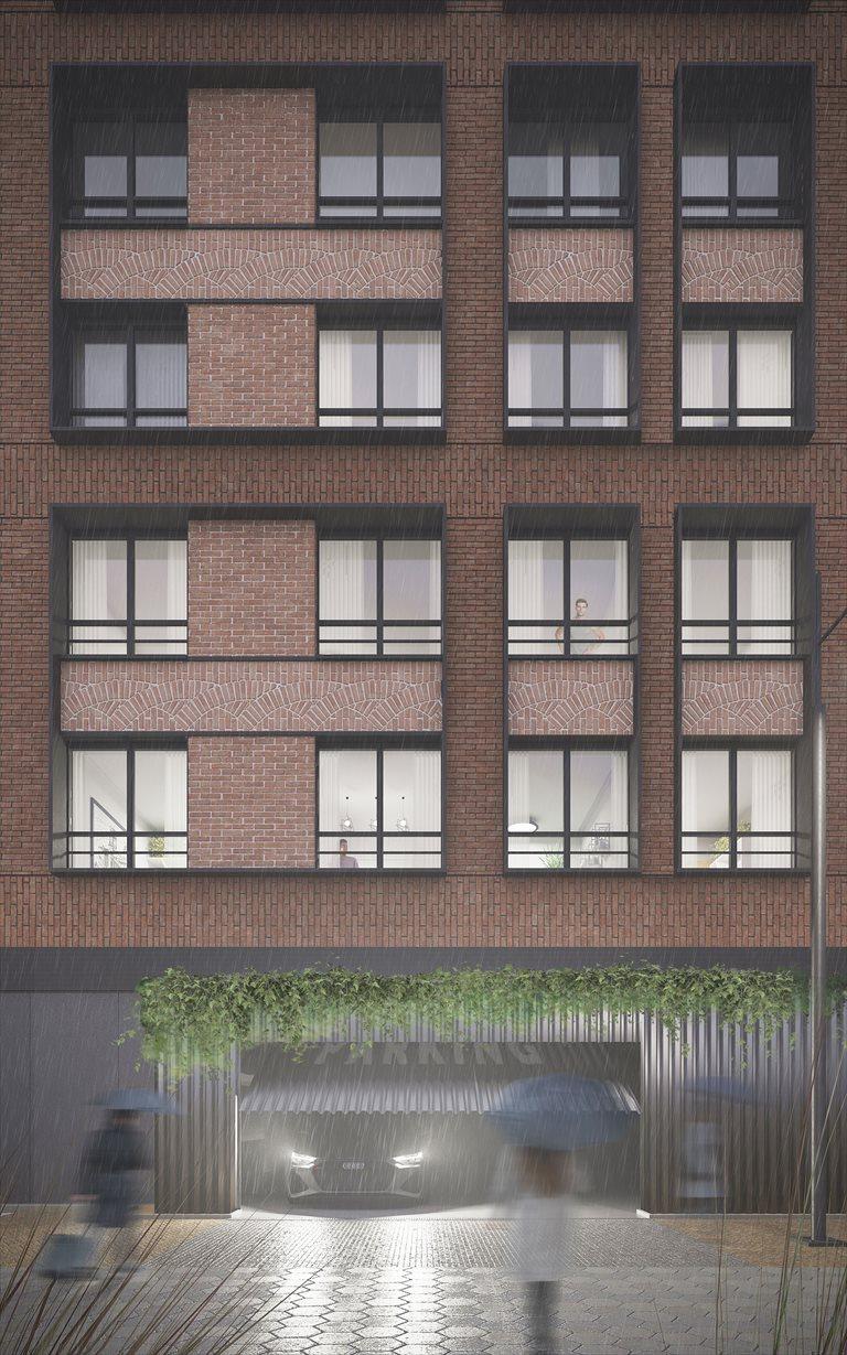 Nowe mieszkanie czteropokojowe  DOKI LIVING Gdańsk, Śródmieście, ks. Jerzego Popiełuszki/Rybaki Górne  82m2 Foto 4