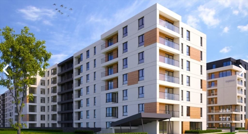 Nowe mieszkanie trzypokojowe DĄBSKA ETAP III Kraków, Grzegórzki, ul. Dąbska  52m2 Foto 1