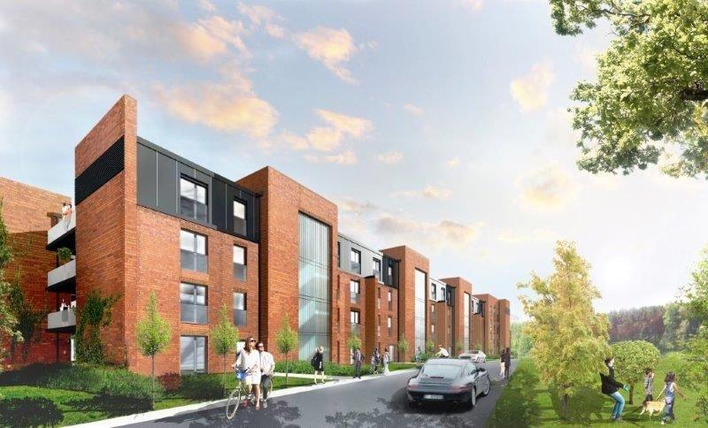 Nowe mieszkanie trzypokojowe Stara Cegielnia Poznań, Grunwald, Stara Cegielnia, Ceglana  79m2 Foto 2