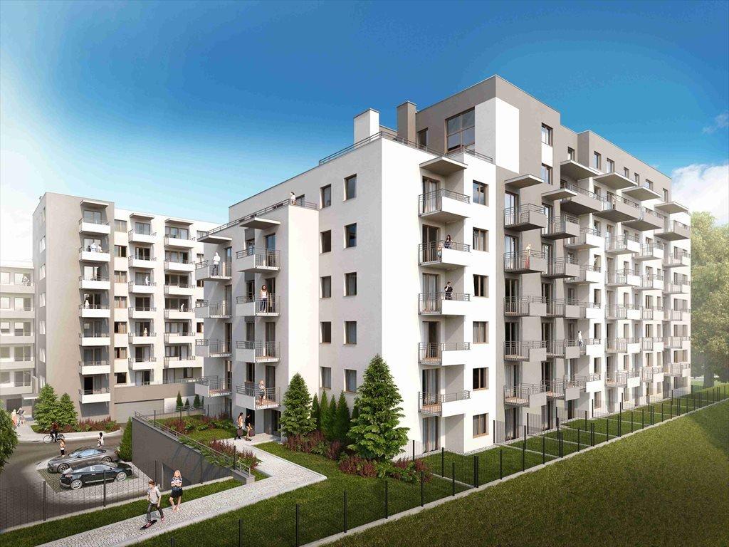 Nowe mieszkanie dwupokojowe Ornament IV etap Szczecin, Śródmieście, Powstańców Śląskich 6  51m2 Foto 1