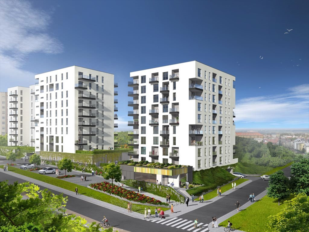 Nowe mieszkanie czteropokojowe  Signum Etap II Gdynia, Pogórze, ul. Żelazna 14  67m2 Foto 2