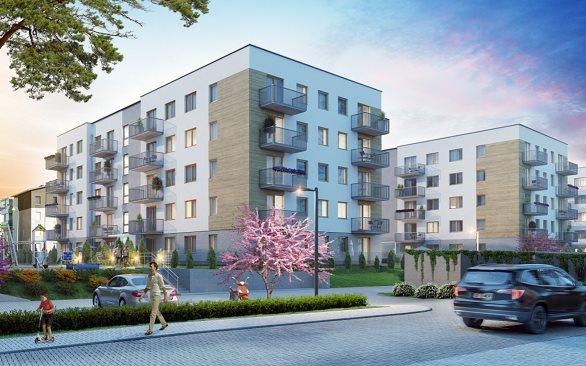 Nowe mieszkanie dwupokojowe Osiedle przy Błoniach Rumia, Janowo, Błoń Janowskich  41m2 Foto 1