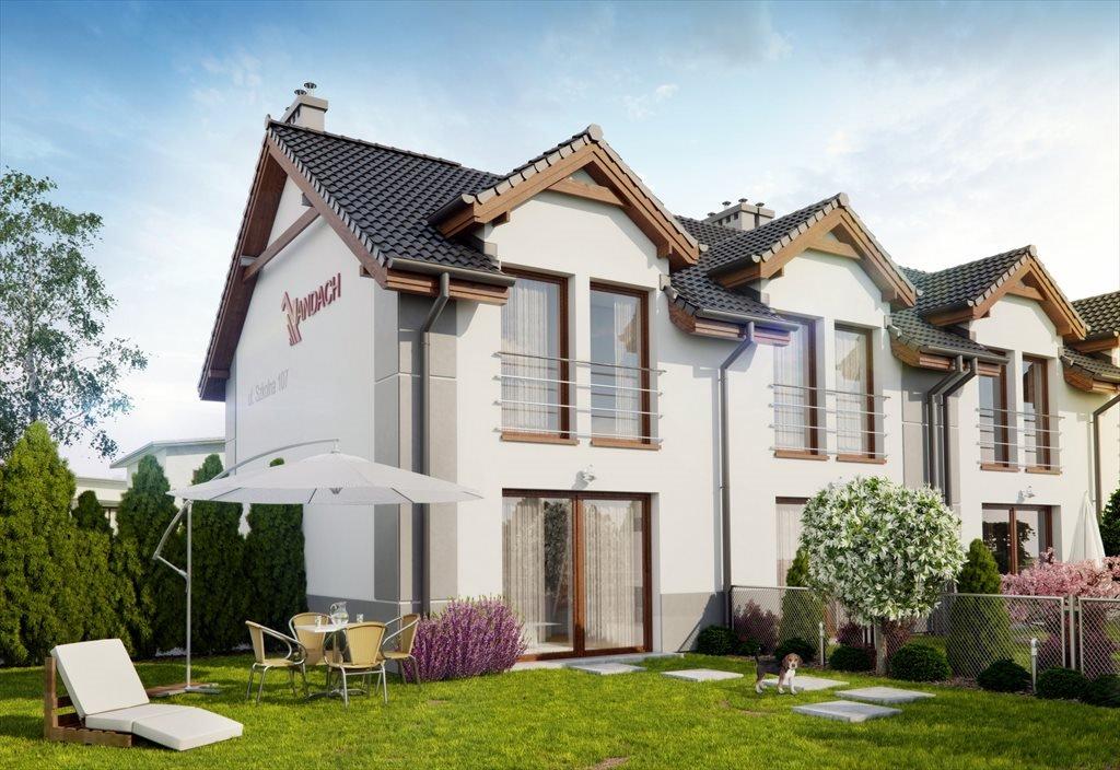 Dom na sprzedaż Osiedle Bliskie Poznań, Szkolna i Lukrecjowa  72m2 Foto 1